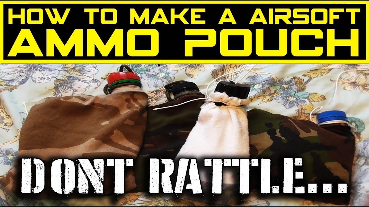 Comment faire une pochette de munitions Airsoft
