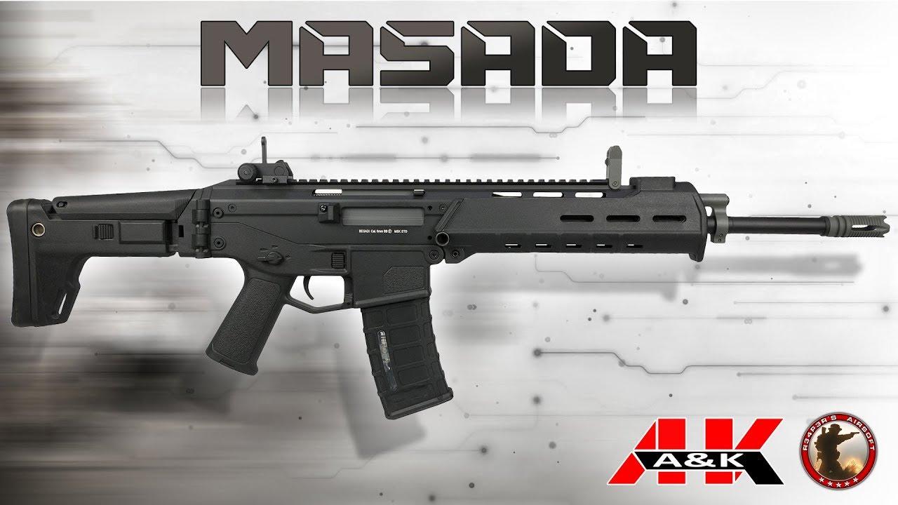 [Review] A&K MSK (ACR / MASADA) – SAEG – 6 mm Airsoft / Softair – 4K UHD