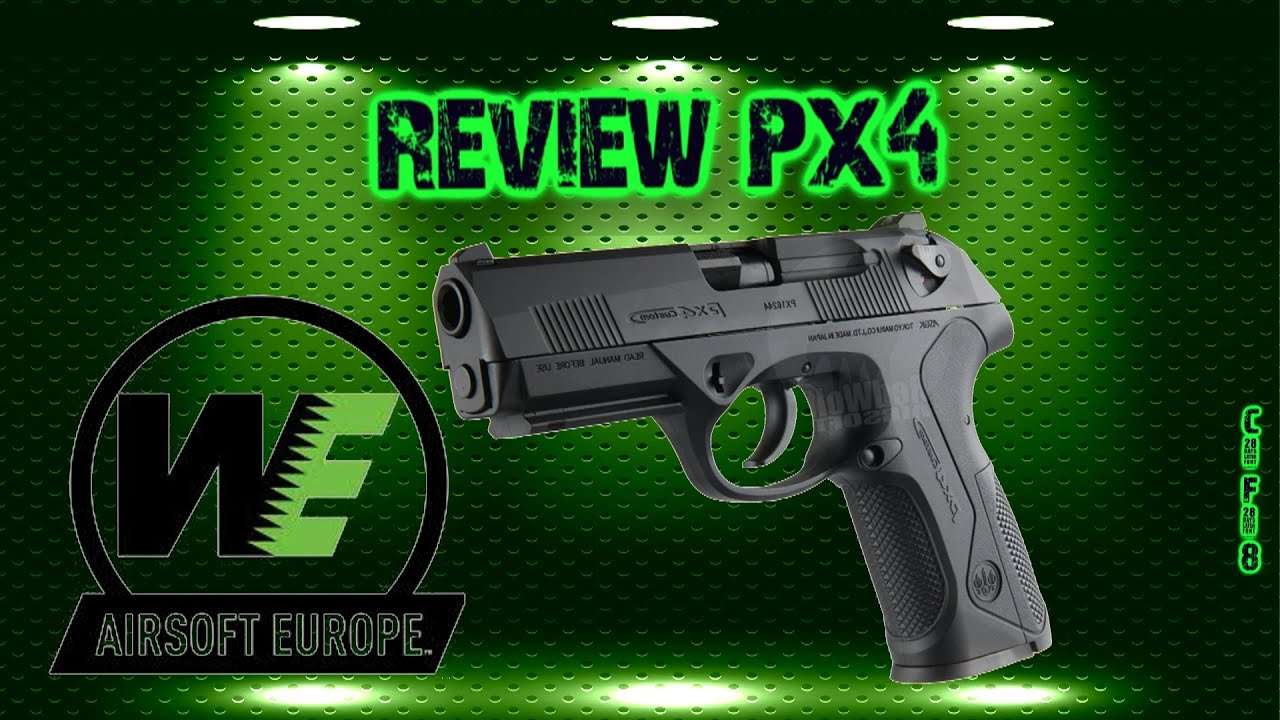 [Airsoft review] PX4 WE [FR]