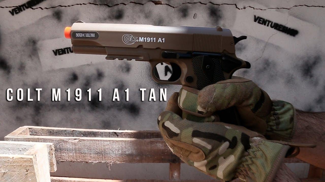 Test du pistolet Airsoft Cybergun M1911 A1 Tan – Ventureshop