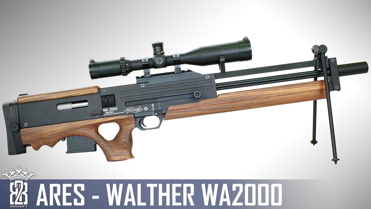 * Critique Airsoft * Ares Walther WA2000   Sous-titres anglais – allemand