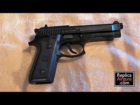Cybergun GSG 92 CO2 BB Gun Modification entièrement automatique.