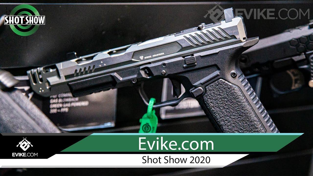 EMB Strike Industries GBB et AEG, Archon Type B, Noveske GBBR + PLUS – Evike.com @ Shot Show 2020