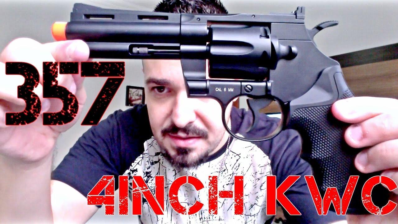 Revolver 357 4 pouces KWC Co2 Full Metal | Critique d'Airsoft | FBAIRSOFT