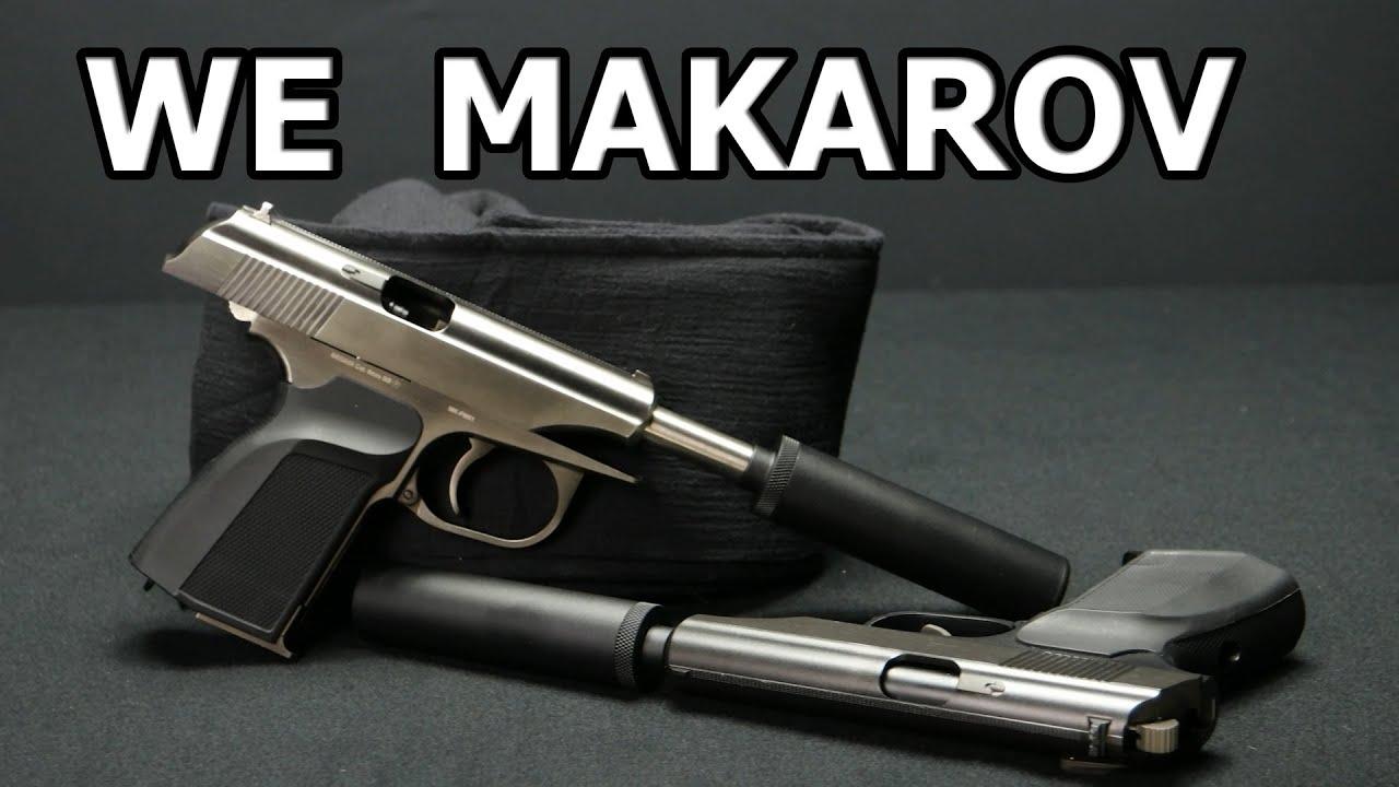 WE MK-PM51 Makarov Airsoft GBB Review allemand / deutsch