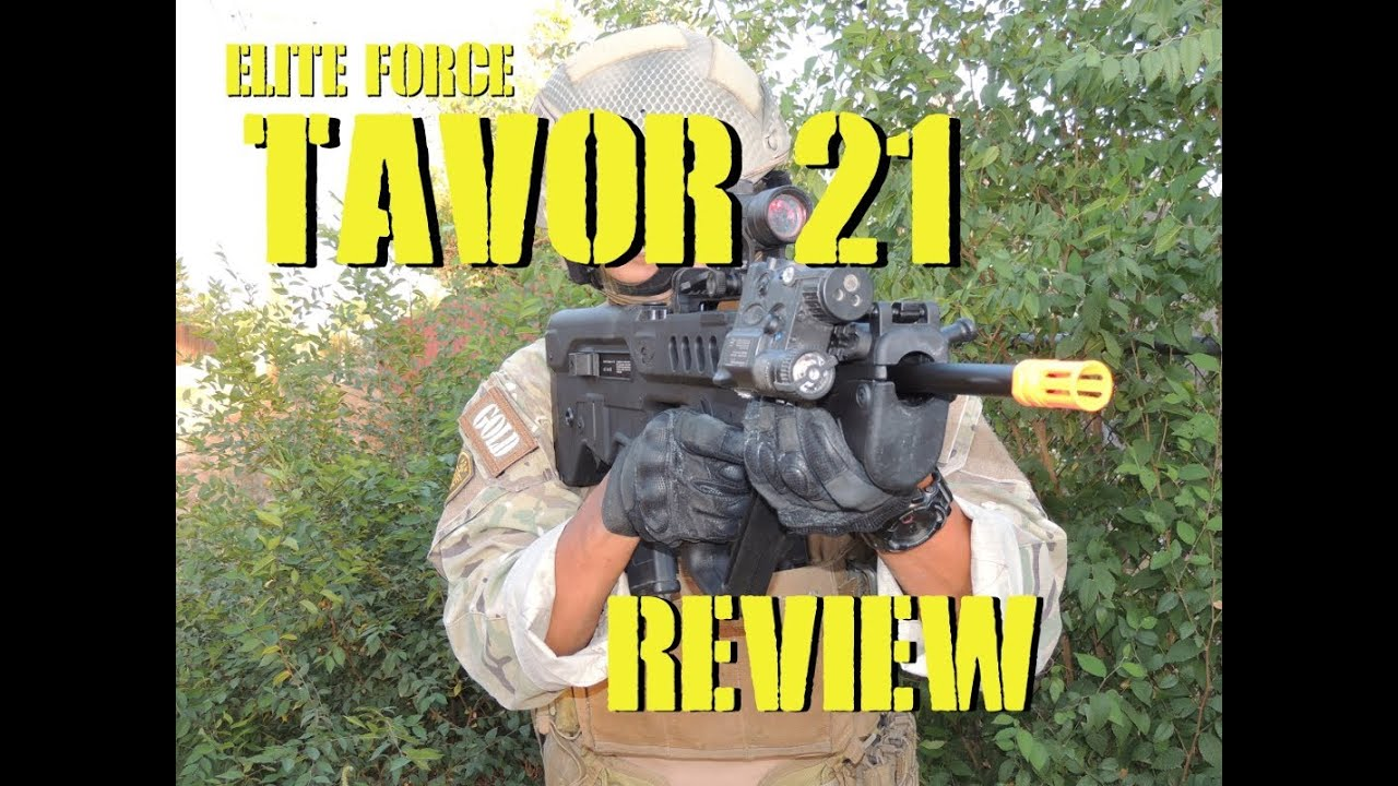 DesertFox Airsoft: Revue Elite Force IWI Tavor 21