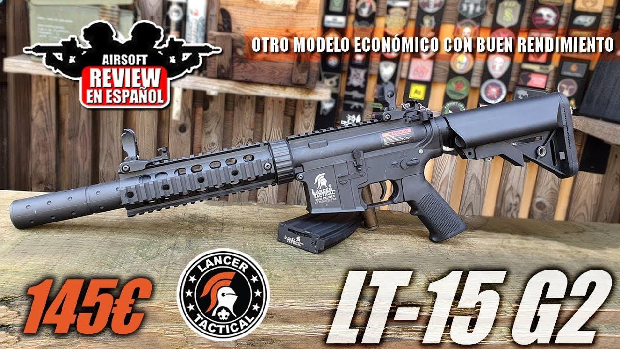 M4 LT-15 Lancer Tactical – 145 € et vous êtes prêt pour la BATAILLE | Revue Airsoft en espagnol