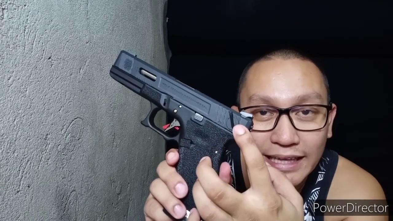 Pistolet airsoft pour débutants (Glock 18c review)