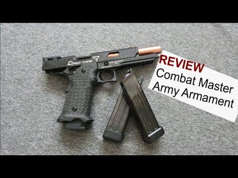 Revue Armée Combat Armament Master Hi-Capa Taran Tactical Begadi.com – 4k / UHD