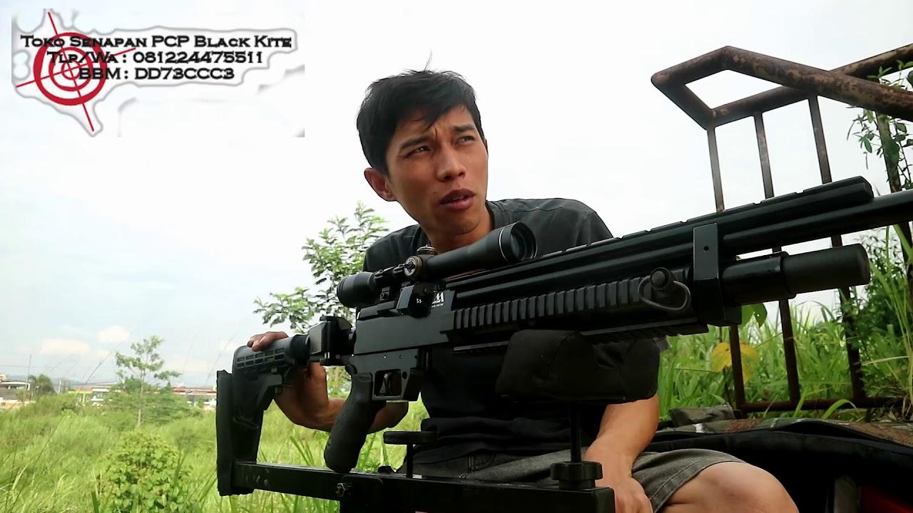 Joss teste la précision des fusils pcp AA prédateurs commandés par Rian de Riau (Black Kite)