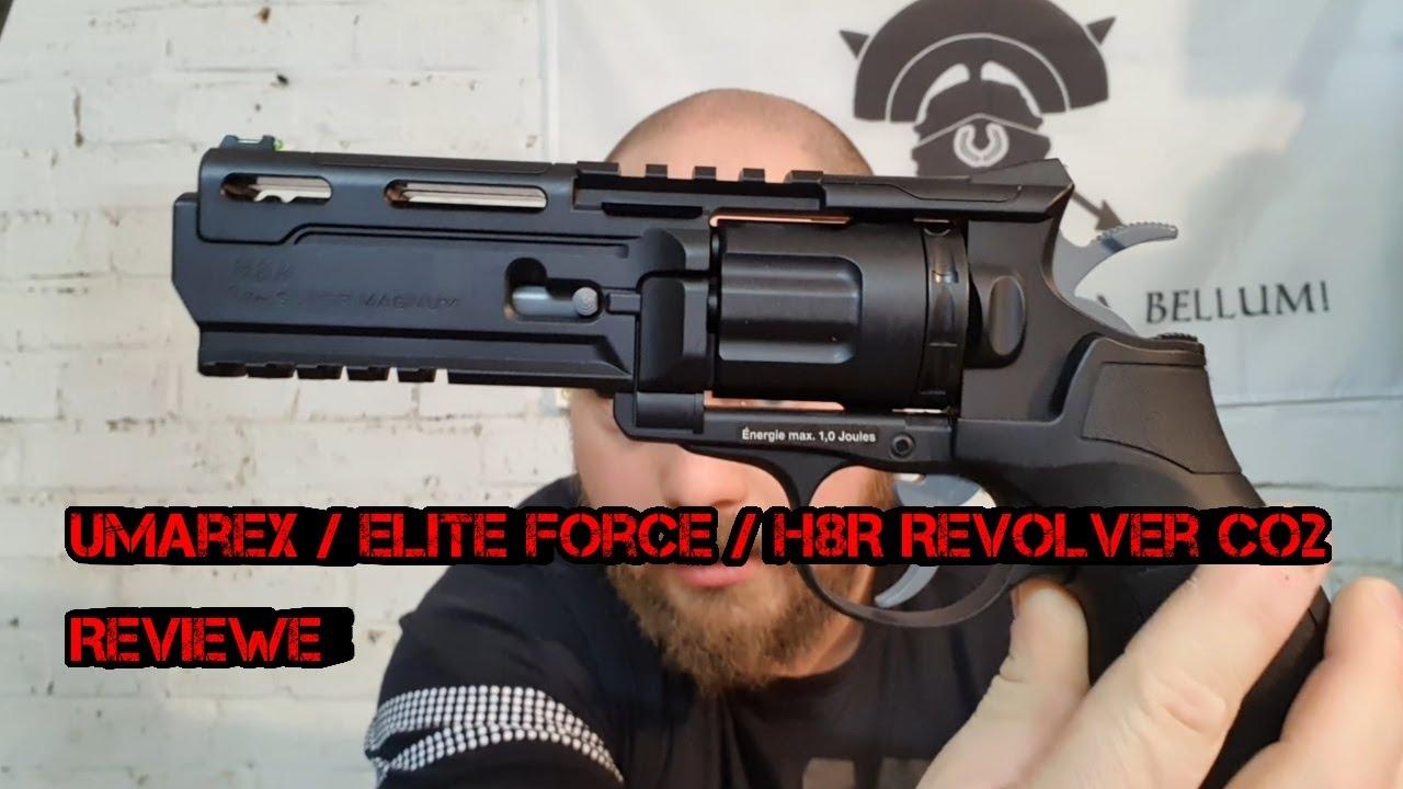 Revue du revolver Umarex Elite Force H8R