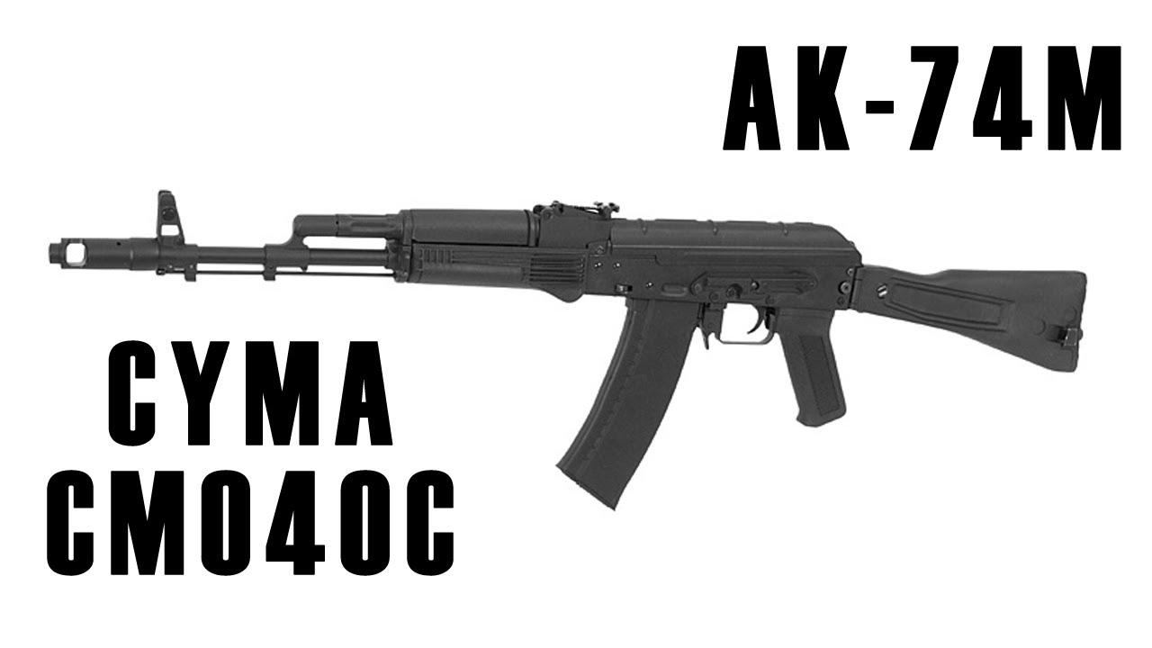 CYMA CM040C Airsoft AK-74M AEG