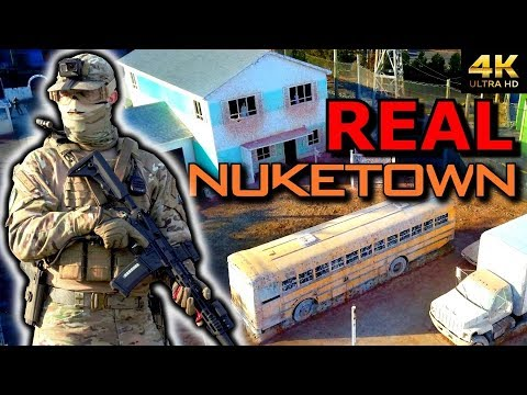 Pro Airsoft Player sur REAL LIFE 1: 1 NUKETOWN 😱
