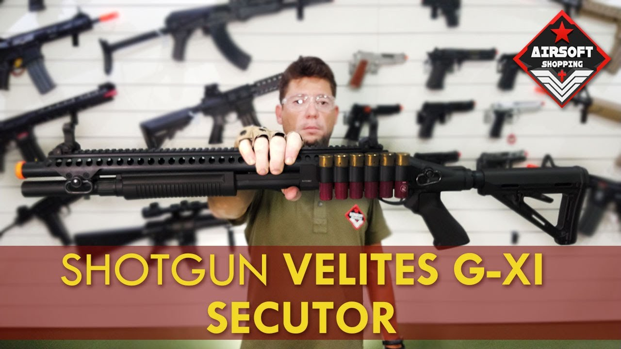 Fusil à pompe Gaz vert VELITES GVI et GXI | Airsoft Shopping
