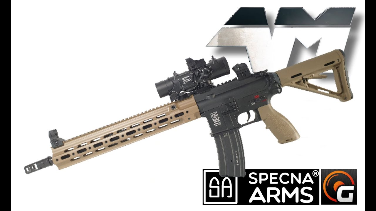 Avis sur SPECNA ARMS SA H06 M ONE ™ / Airsoft Unboxing