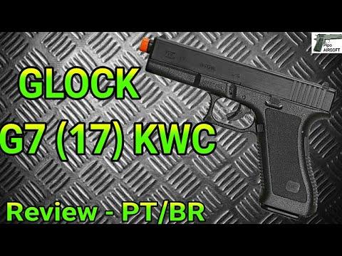 Ressort KWC Airsoft Glock G7 (17) | Révision / Déballage | PT / BR