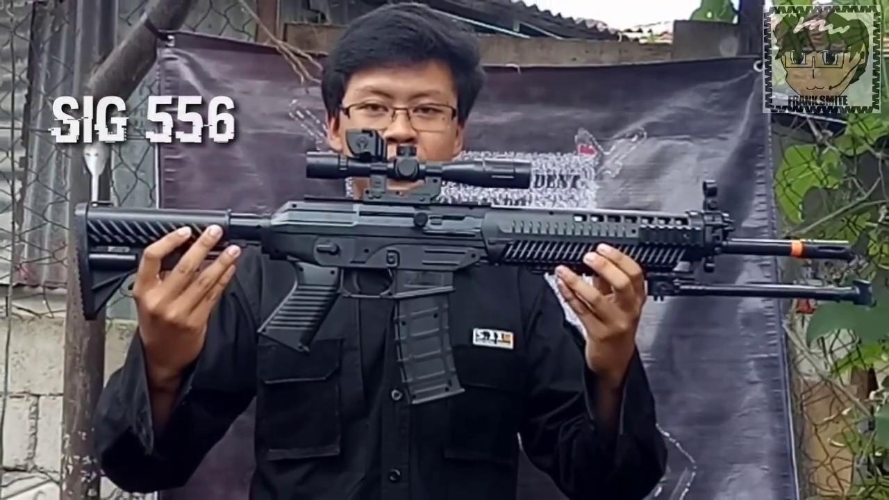 REVUE PAS CHER AIRSOFT SPRING SIG-556 Fabriqué en Indonésie Cobra