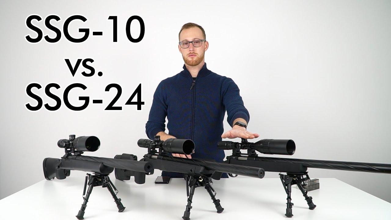 Comparaison de NOVRITSCH SSG-10 et SSG-24