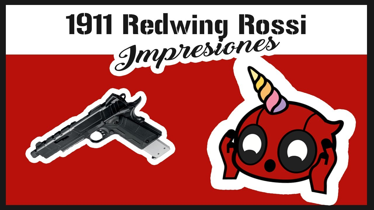 AVIS D'AIRSOFT – 1911 Rossi Pistol | Arme de poing Rossi | Rossi Redwing