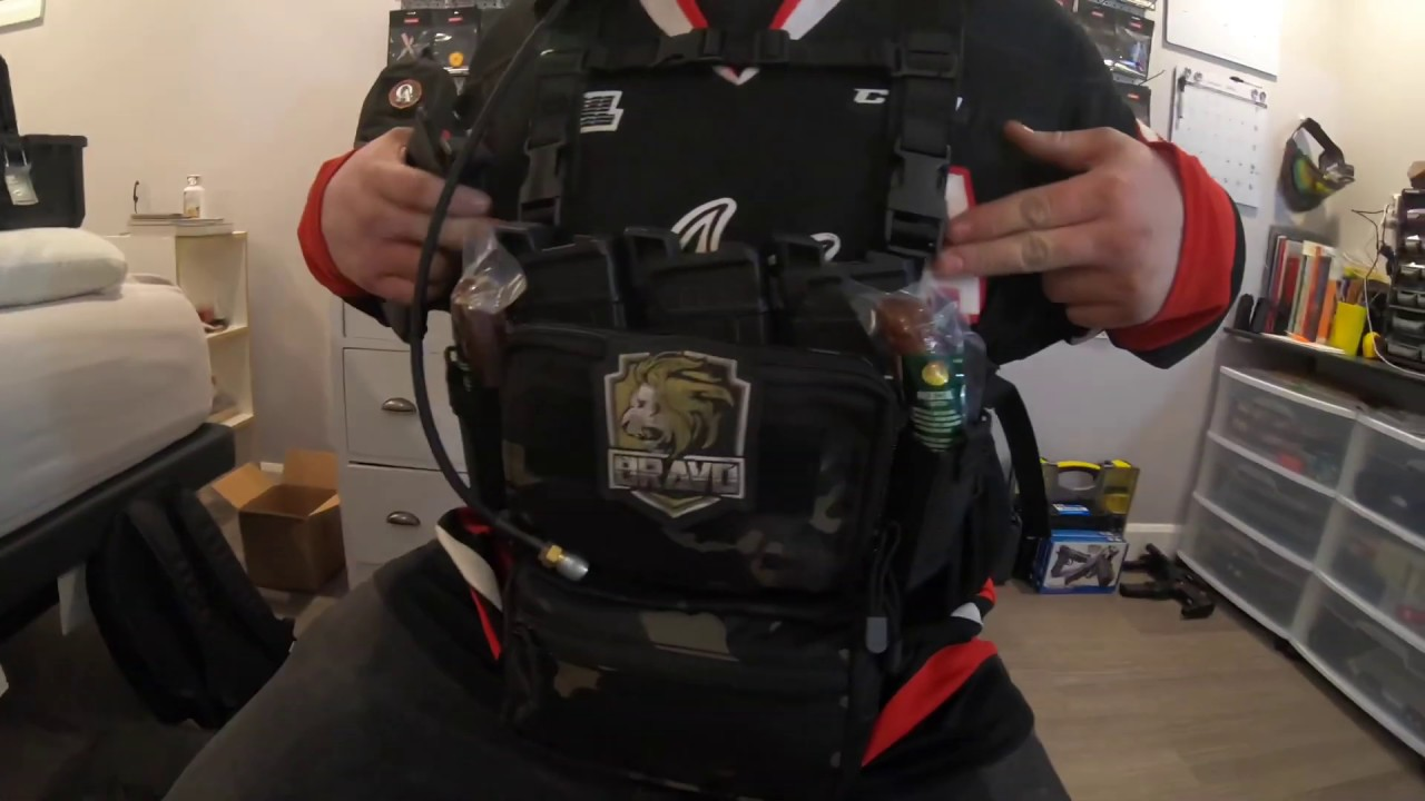 Hilarious HRG Chest Rig and Backpack Review par SAS Ghost