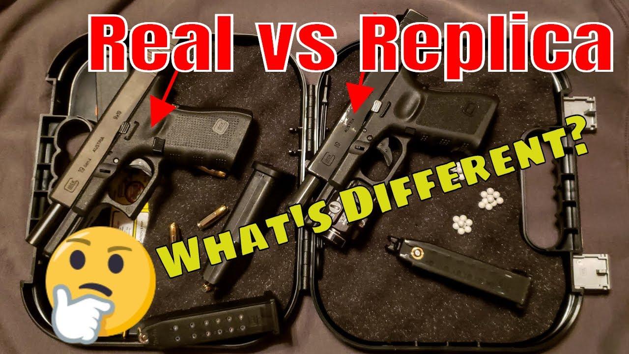 Airsoft Glock contre Real Glock | Comparaison complète