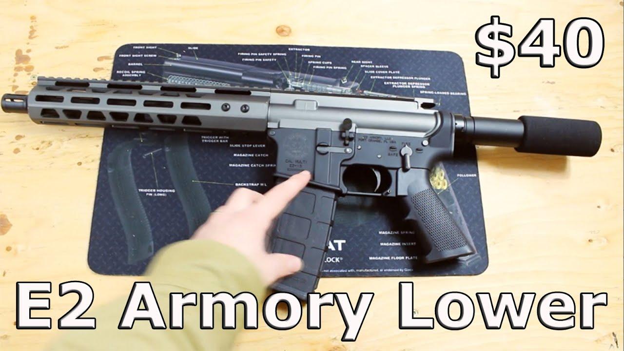 E2 Armory Lower Receiver Review (Meilleur budget inférieur?)