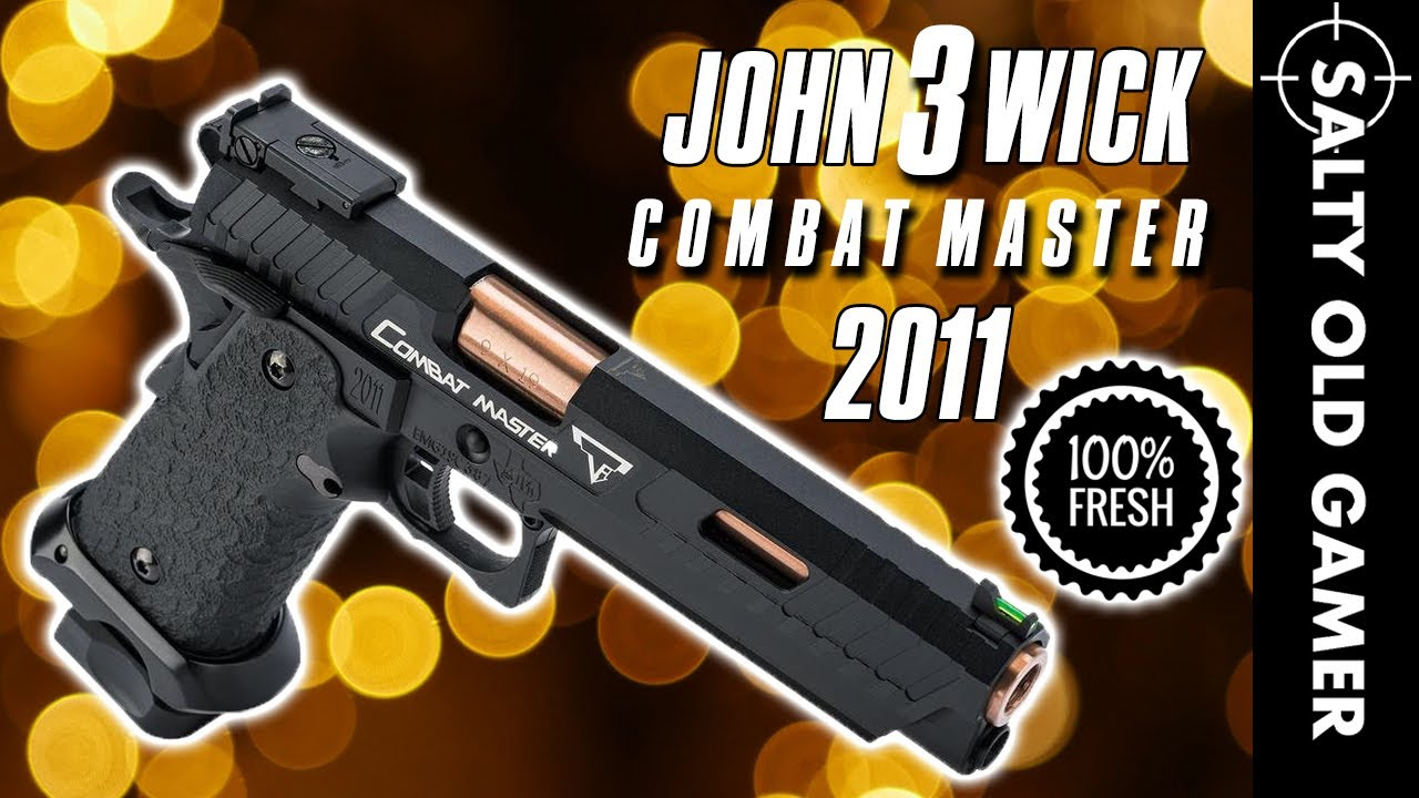 LOOK FRAIS! JW3 Combat Master officiel 2011 | SaltyOldGamer Airsoft Review