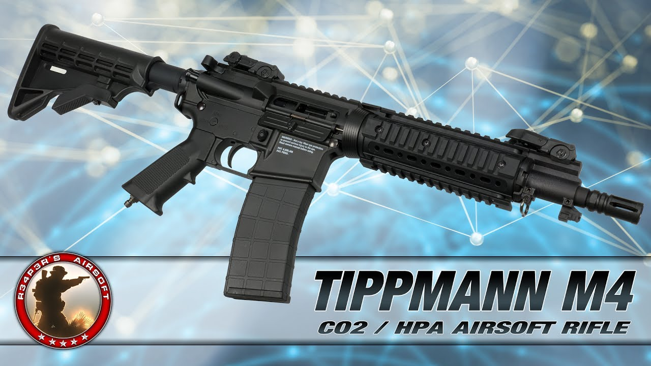 [Review] Test Tippmann M4 CO2 / HPA CQB – 6mm Airsoft / Softair – 4k UHD