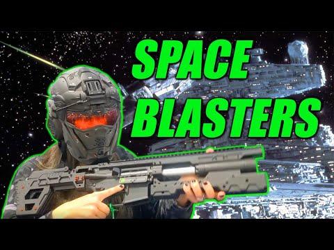 SPACE BLASTERS! (Vlog au SHOT Show 2020)