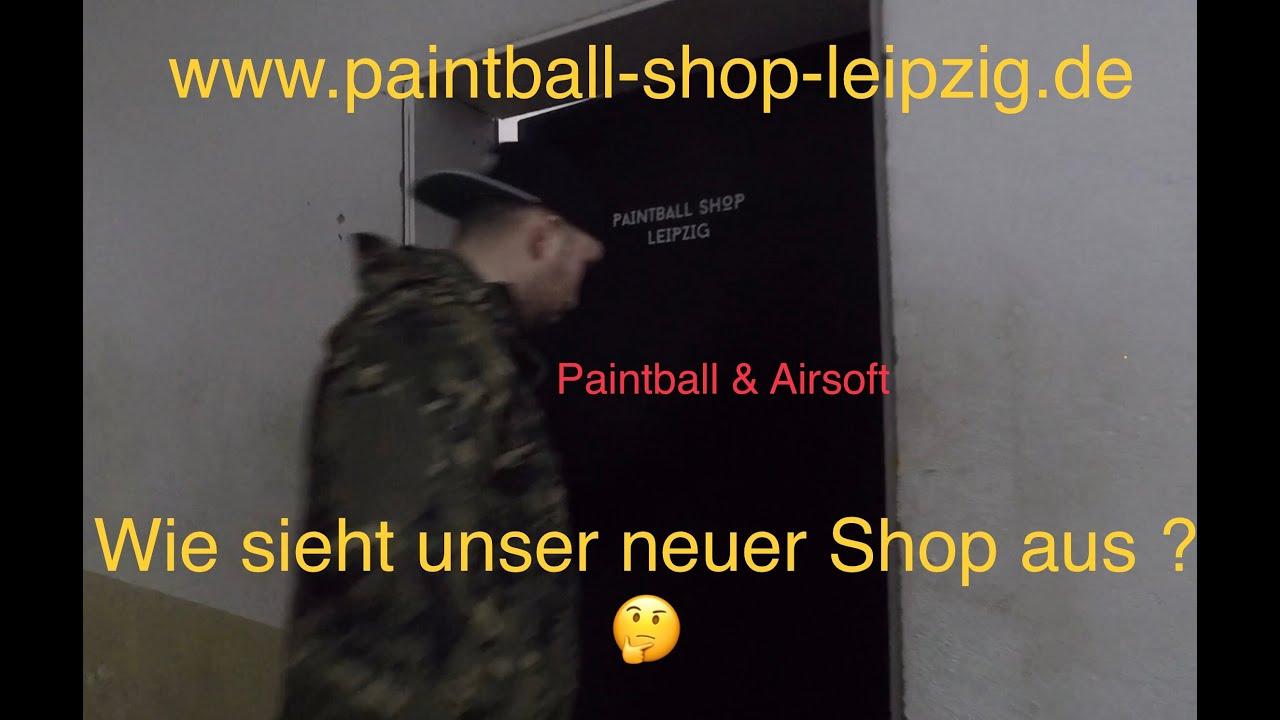 AREA13 | Présentation Paintball Shop Leipzig | À quoi pouvez-vous vous attendre? 😎 | Paintball et airsoft