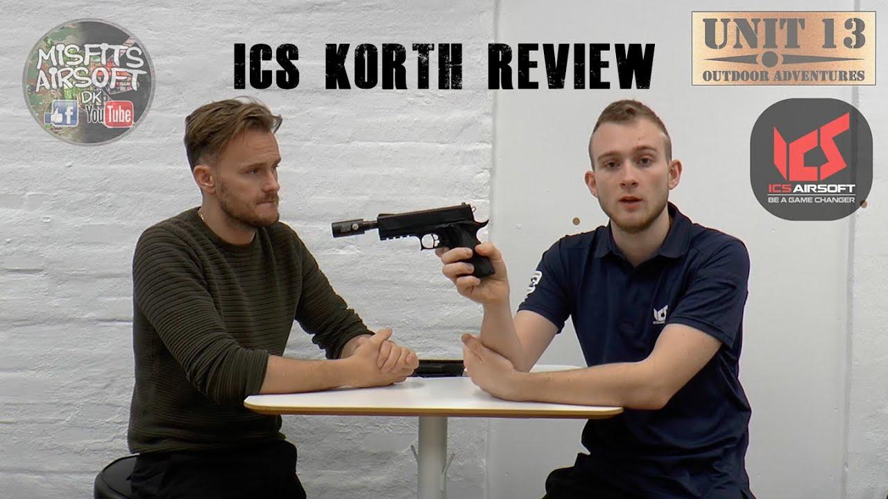 ICS Korth PRS GBB Pistol Review – Unboxing et revue Airsoft