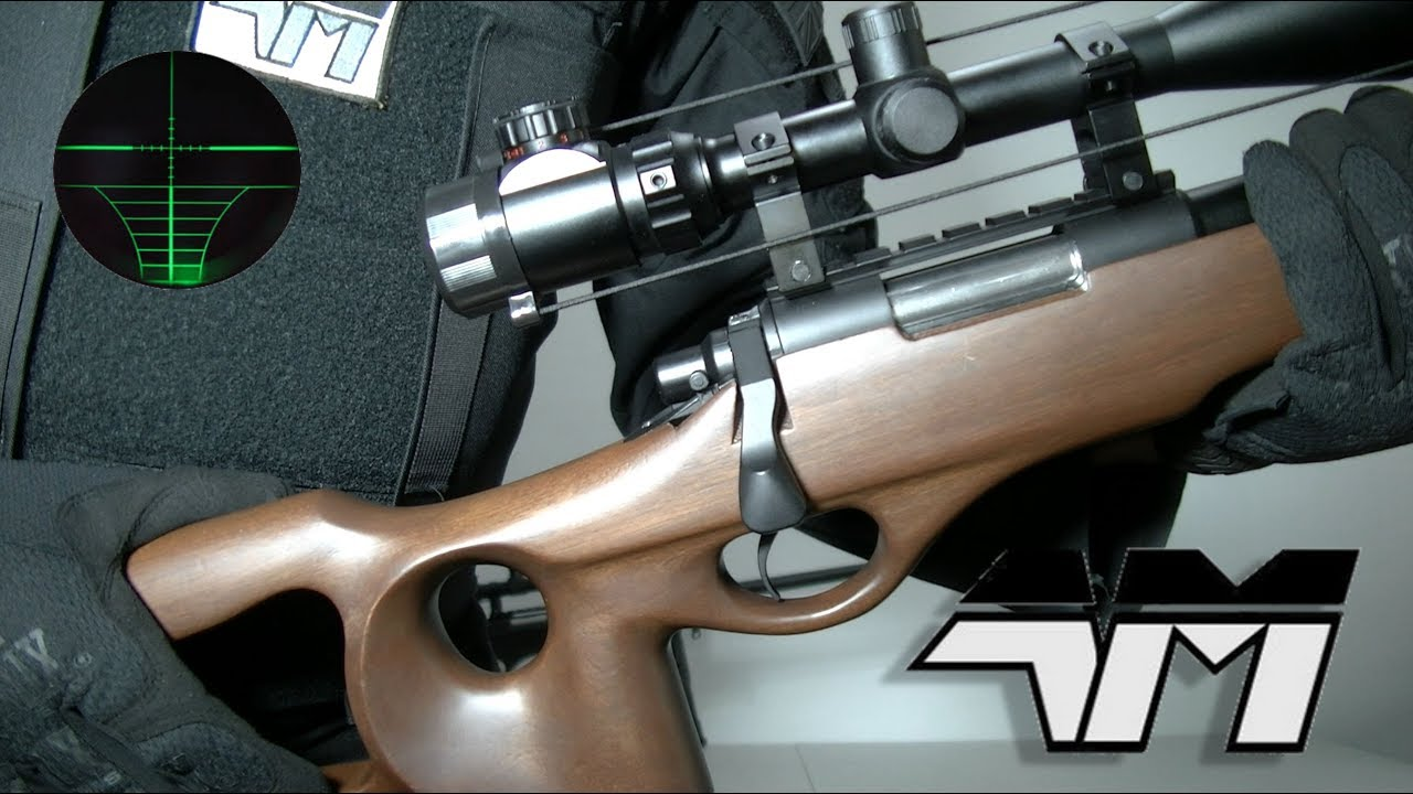 WELL MB09 REAL WOOD VERSION / WELL MB10 / Airsoft Sniper Rifle Unboxing Review / Airsoft sur un budget