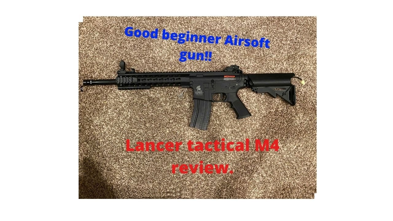 Lancer tactique airsoft m4 w / keymod Review