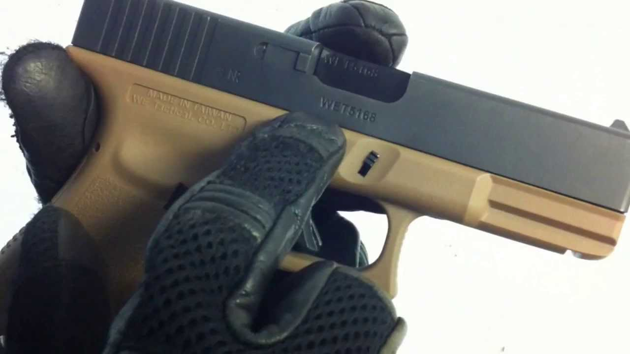 Airsoft Review Glock 19 WE (Fr)