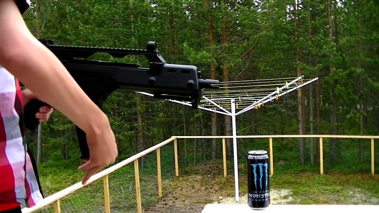 Examen du pistolet airsoft ASG G36C | Norvégien
