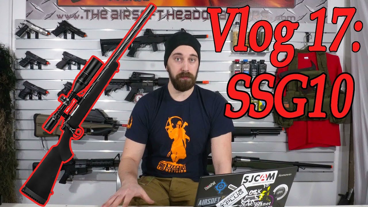 Vlog 17: Noviritsch SSG10, nouveau fusil disponible