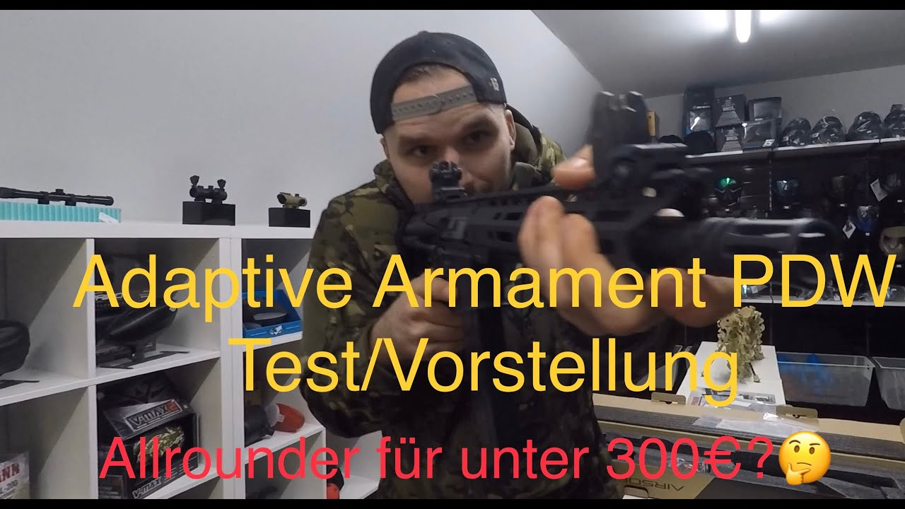 AREA13 | Test du spectre PDW d'armement adaptatif deutsch | Airsoft et paintball