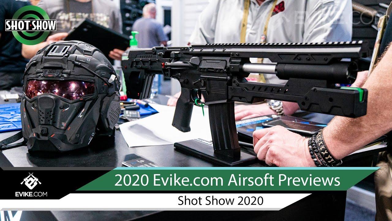 Evike.com Airsoft 2020 en avant-première – Shot Show 2020