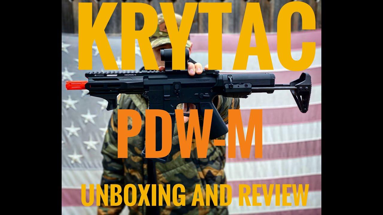 MEILLEUR AIRSOFT PDW?! || Guide de déballage et d'achat du Krytac Trident MK II PDW-M