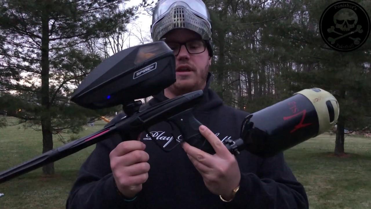 Vidéo de tournage DLX Luxe X l Pistolet de paintball d'occasion de la semaine