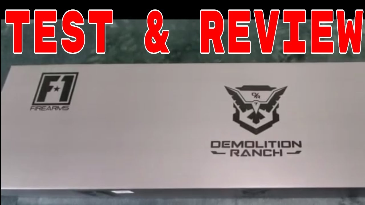Examen et essai de Demolition Ranch F1 Airsoft