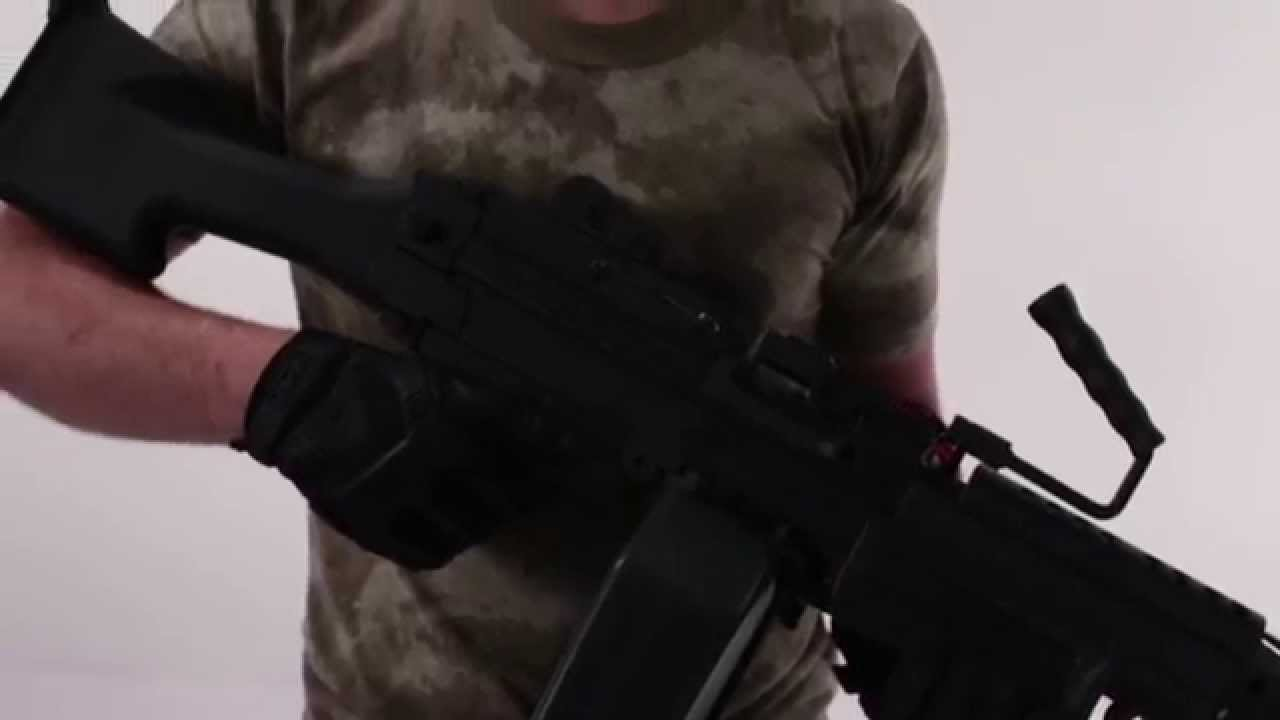A&K FN M249 SAW – Examen des armes Airsoft