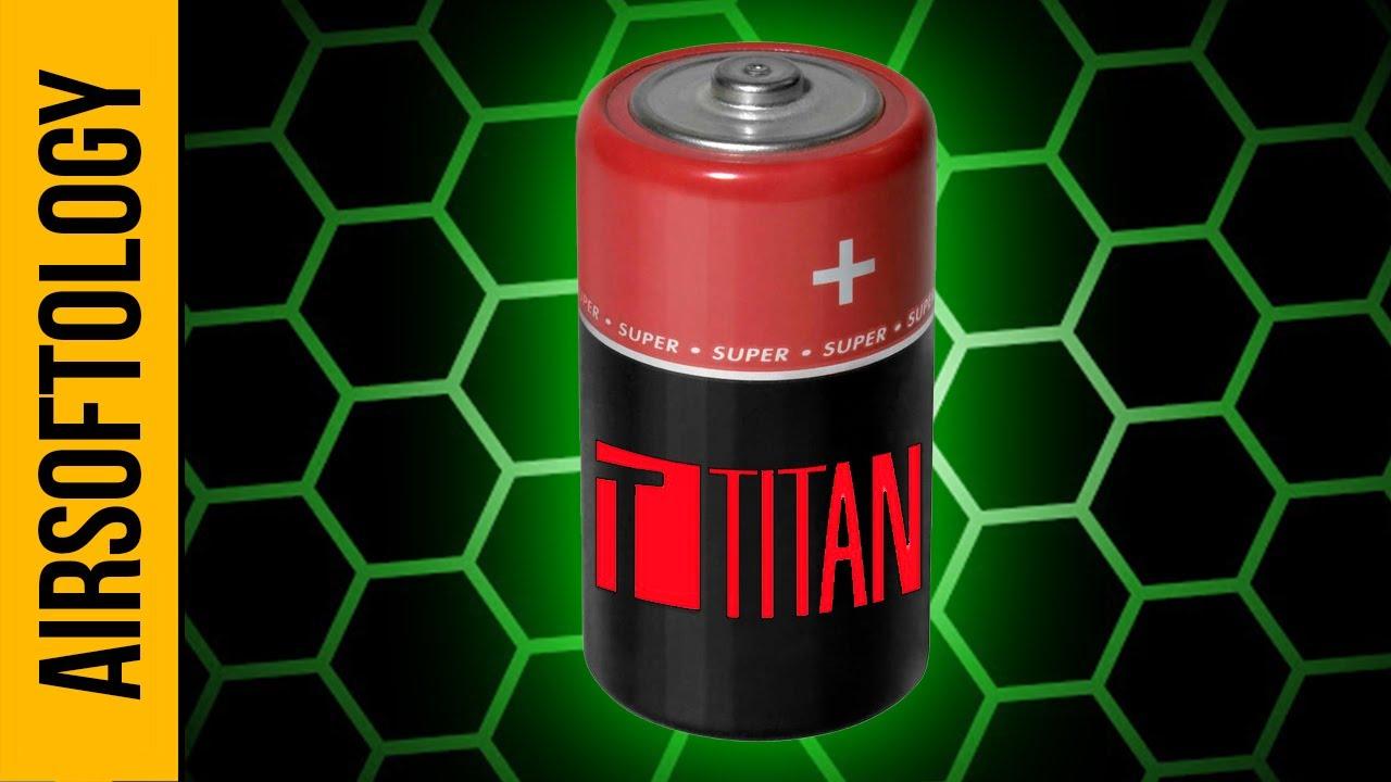Le mouvement BOLD de Titan Power pour les batteries d'airsoft en 2020.