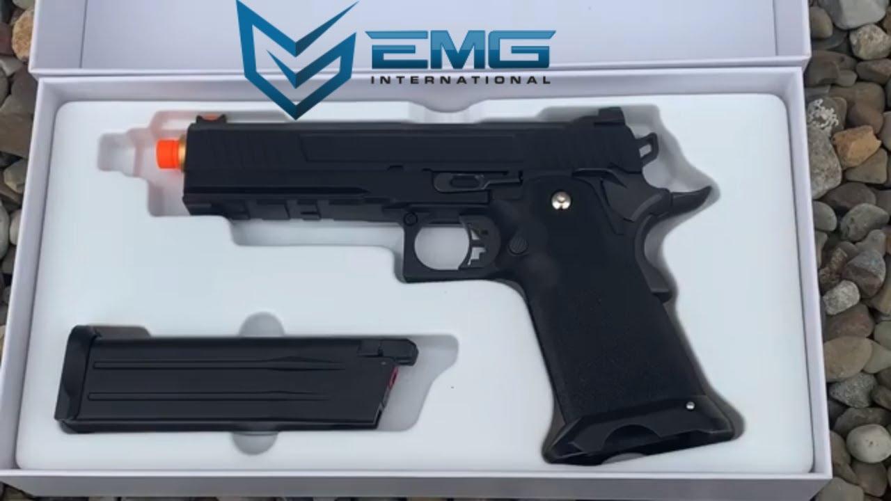 Revue du pistolet EMG Salient Arms High-Capa