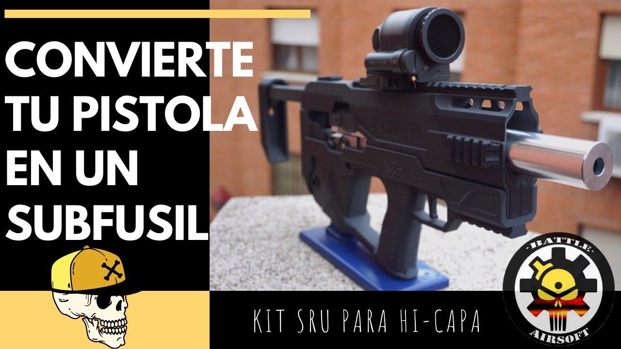 Assemblage du kit SRU pour Hi-Capa // AIRSOFT ESPAÑOL