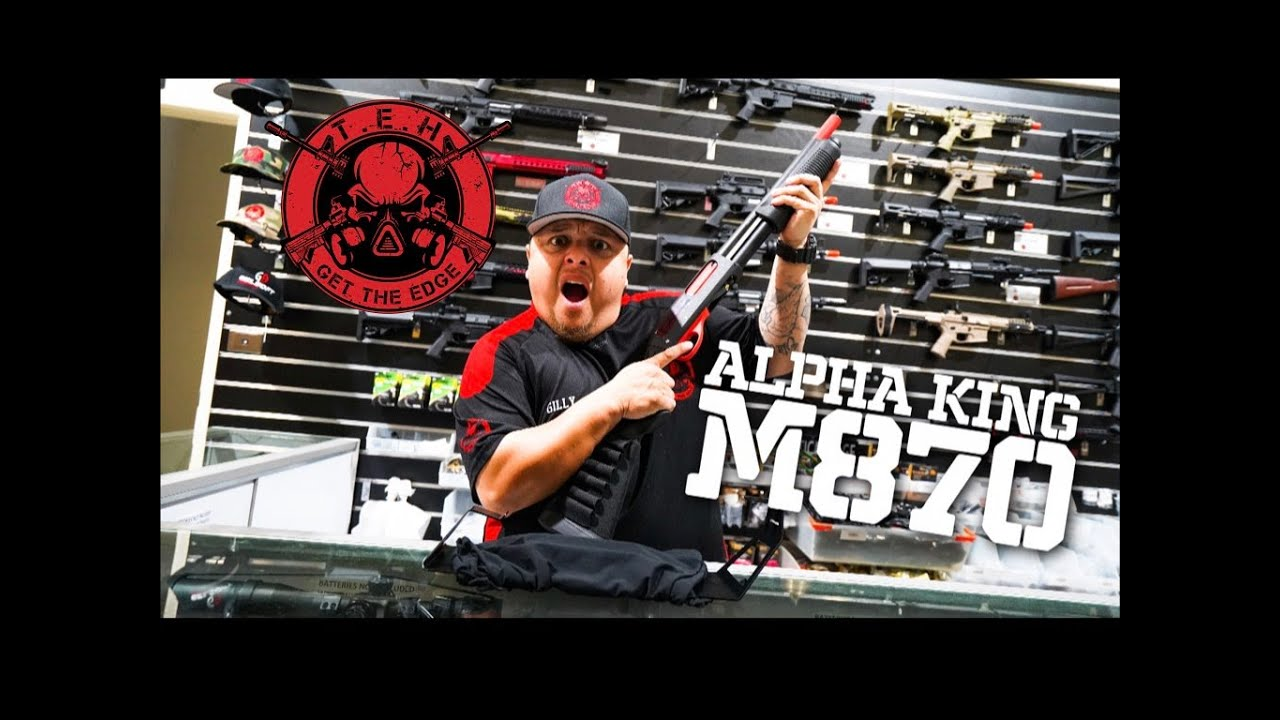 Critique du Alpha King Shotgun M870 Gel Blaster