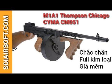 # SOIAIRSOFT.COM – M1A1 Thompson Chicago Cyma (CM051) Pistolets Airsoft
