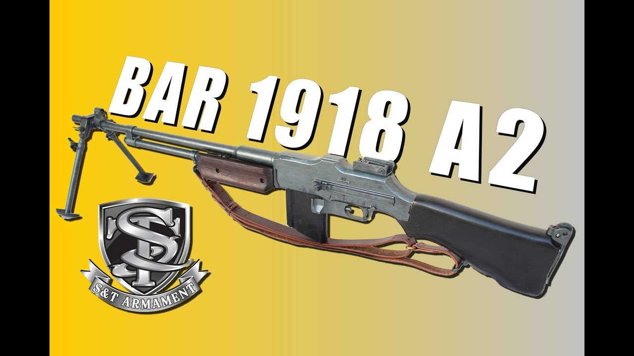 BAR 1918 A2 S&T Upgrade TNT-Studio – REVIEW AIRSOFT