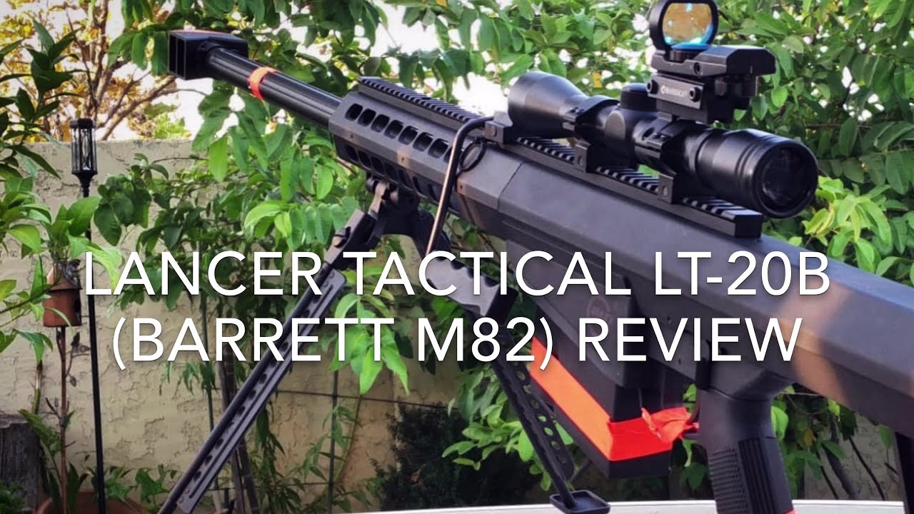 Revue Airsoft Lancer Tactical LT-20 B (Barrett M82)