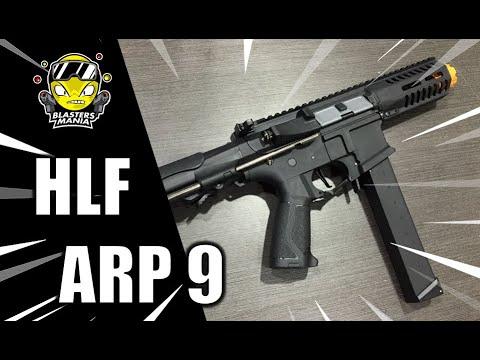 HLF ARP 9 (déballage, examen et tests FPS) – Blasters Mania